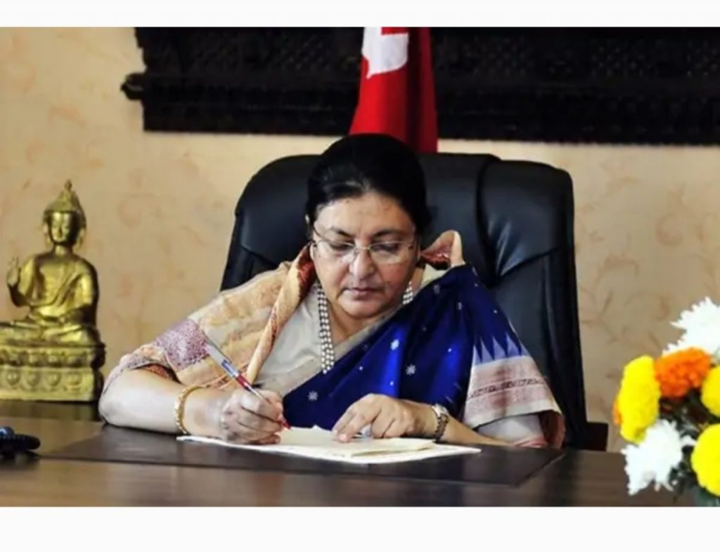 Prez Bhandari brings first House meet post restoration on March 7