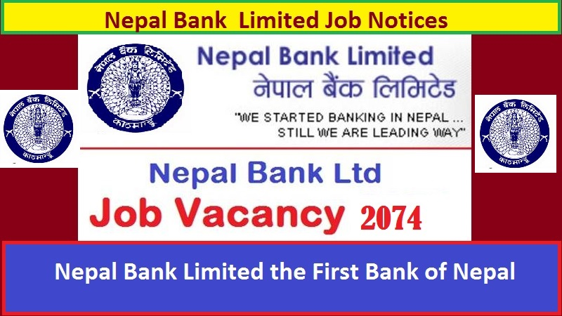 Nepal Bank Limited has requested employees for all the seven states